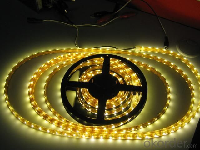 Led Low Voltage Light SMD3528 DC CABLE  120 LEDS PER METER OUTDOOR IP65
