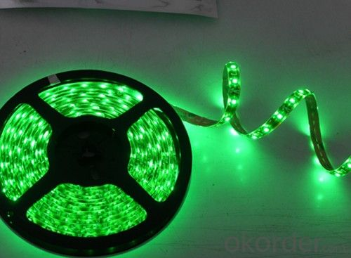 Led Flexible Strip  DC Plug SMD3528 60 LEDS PER METER INDOOR IP20
