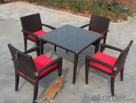 Patio Rattan  Dining set  for Wicker Outdoor Chair Garden