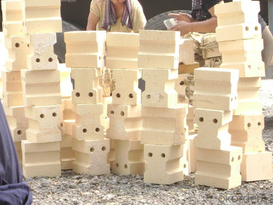 Fireclay Refractory Bricks Low Thermal Conductivity
