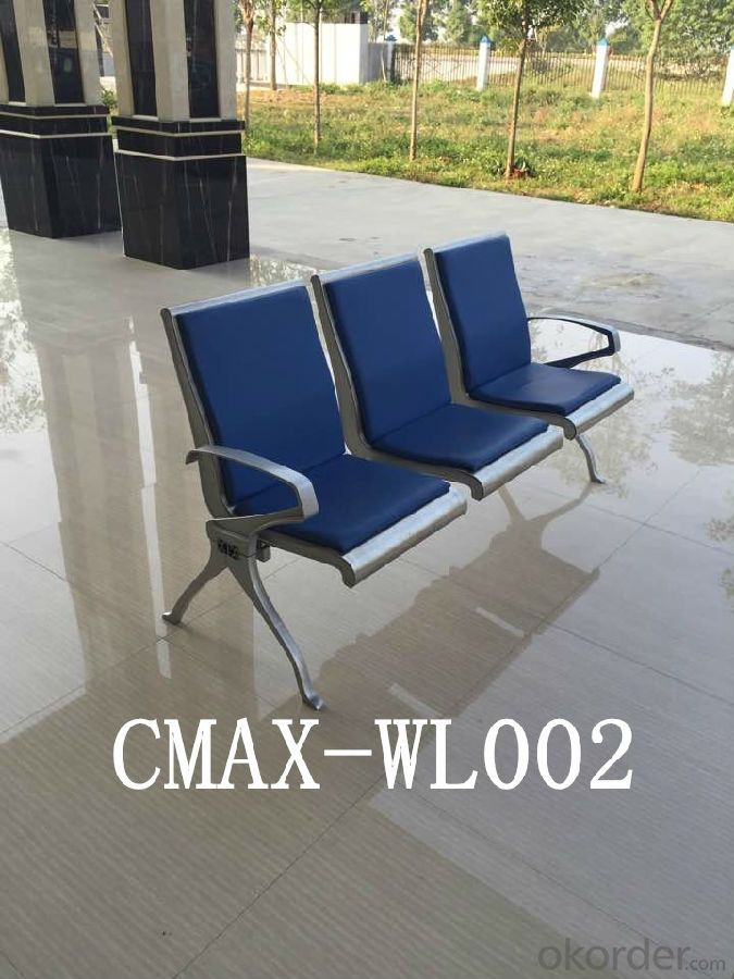PU Waiting Chair with Great Workmanship CMAX-WL012