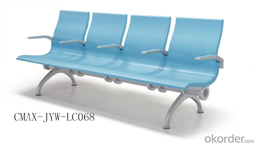 Strong Blue Public Waiting Chair with nice Price  CMAX-JYW-LC068