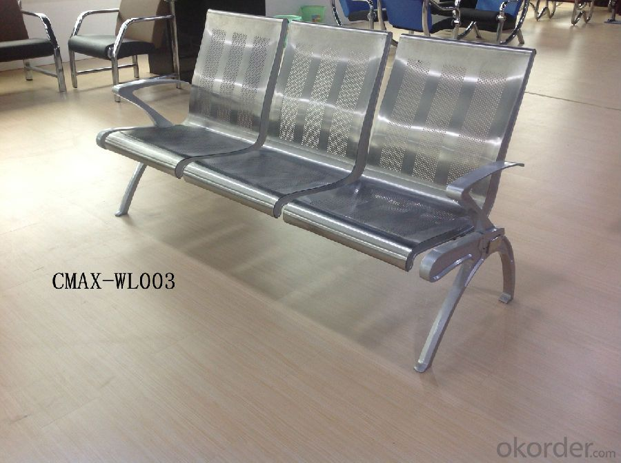 Stainless steel Waiting Chair with Competitive Price CMAX-WL008