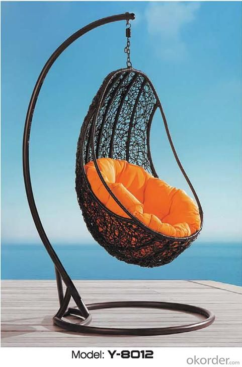 Outdoor Swing Sets for Adults Rattan Patio Swing Chair