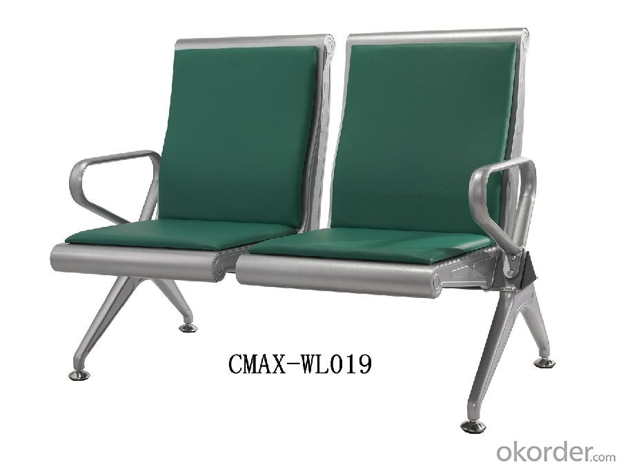 Durable Public Waiting Chair with 2 Seater CMAX-WL019