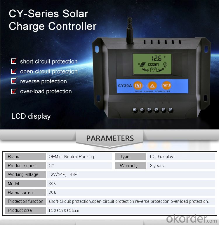 Solar Controller with Best Price Hot Selling Model DM110A