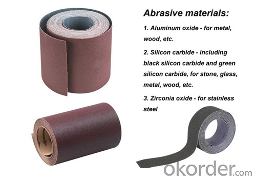 Abrasives Sanding Paper for Inox and Metal Surface