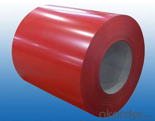 Structure of Pre-painted Galvanized steel Coil