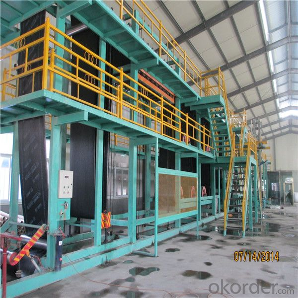 Bitumen Waterproofing Membrane Machinery Production Line