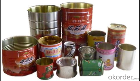 Prime Grade Tinplate, Metal Cans Uasge, SPCC/MR