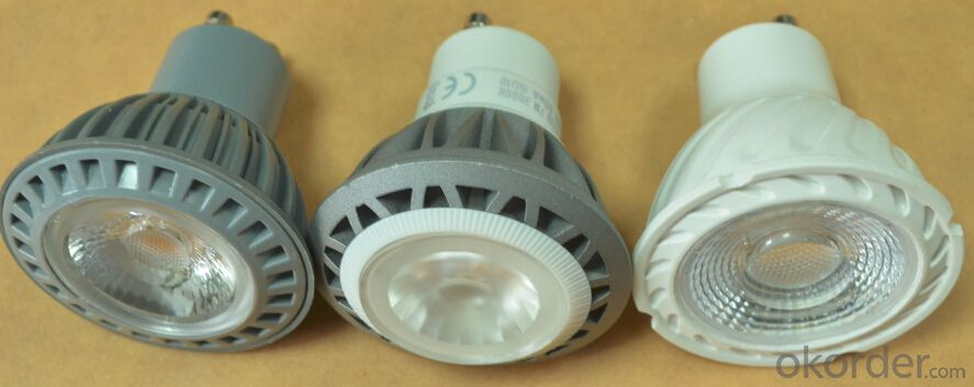 LED COB Spotlight  5W 100-250V Dimmable GU10