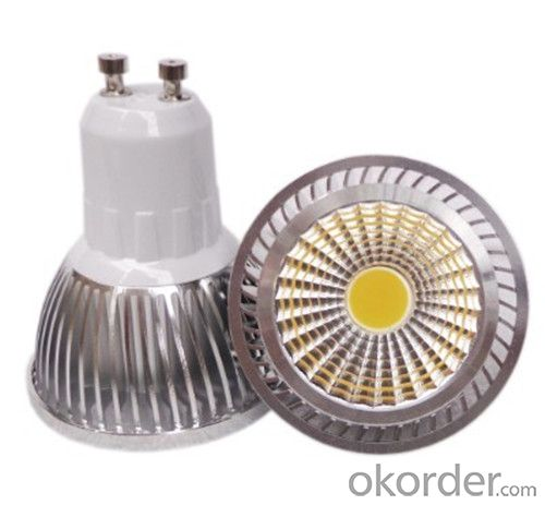 LED COB GU10 Spotlight, 4W 220V Dimmable COB