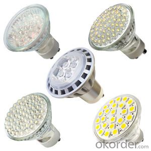 LED  GU10 Spotlight, 4W 220V Dimmable indoor