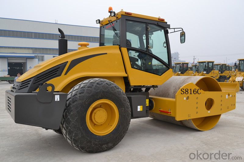 Road Roller S816C Road Building Machinery