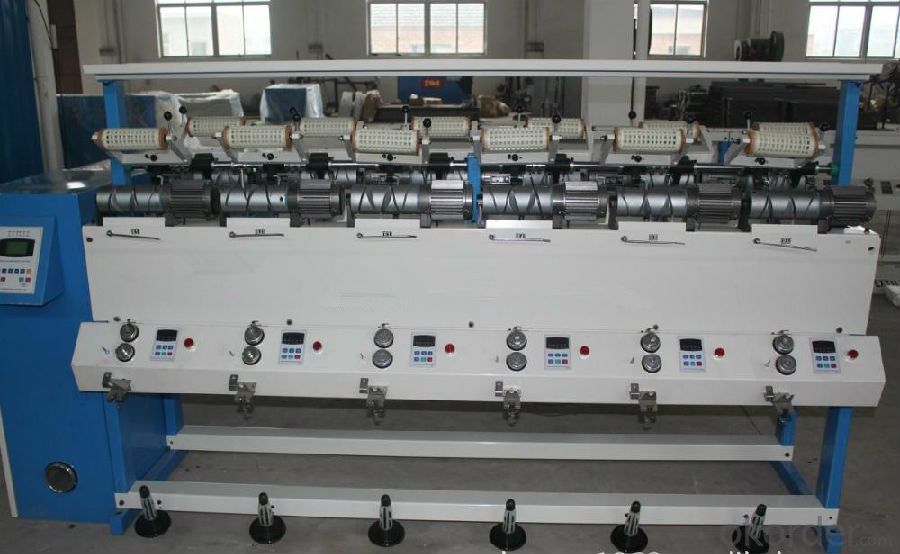 High Speed Cone Rewinder Machine for Rewinding Yarn