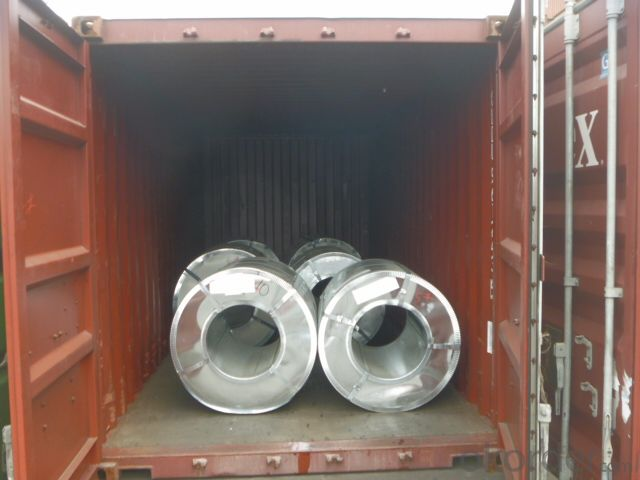 Prime Hot Dip Galvanizing Steel Coils with Full Hard DX51DZ275