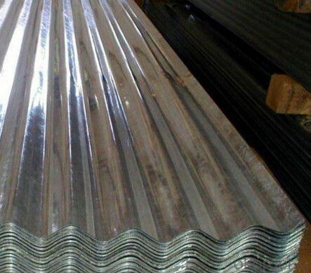 Galvanized Steel Sheet for Roofing Purpose Q235 SS400 GRADE D
