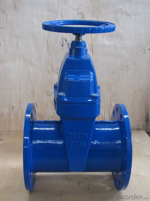 Gate Valve DIN Double Flange Type in Ductile Iron