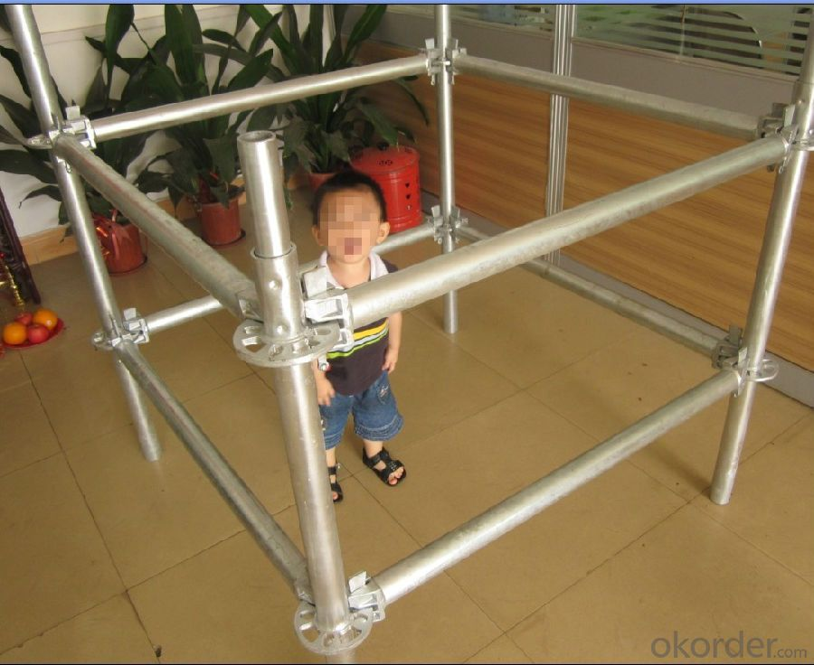 Ringlock System Scaffolding For Sale Q235/345 Steel Galvanized