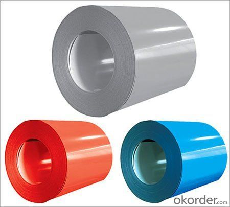 Structure of Prepainted Galvanized steel Coils