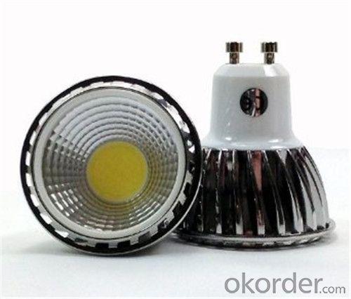 LED GU10 Spotlight  100-250V Dimmable  COB 5W