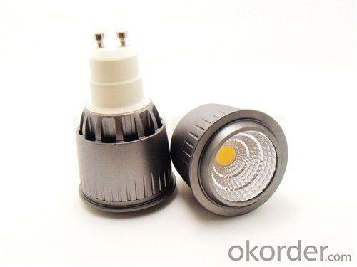 LED COB Spotlight  GU10 5W 100-250V Dimmable