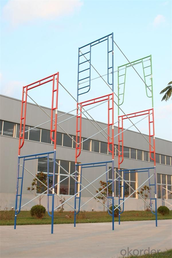 Shoring Frame Scaffold/  Ladder Frames  System