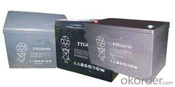 Gel Battery the TTG Series Battery TTG12V93