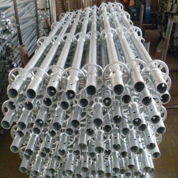 Galvanized Ringlock Scaffold System Easy Assembly Top Quality Metal