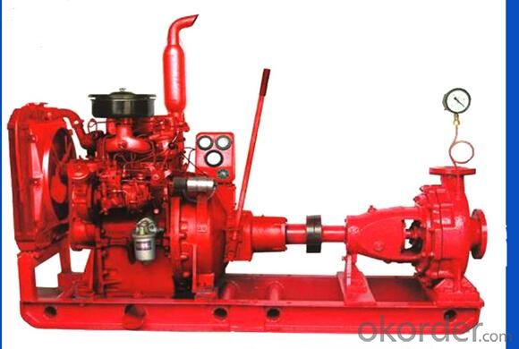 Diesel Driven Water Pump for Irrigation with Good Quality