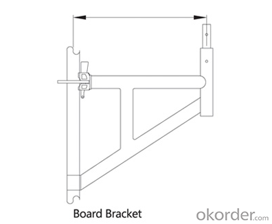 Ringlock Scaffold Bracket Easy Assembly Top Quality Metal