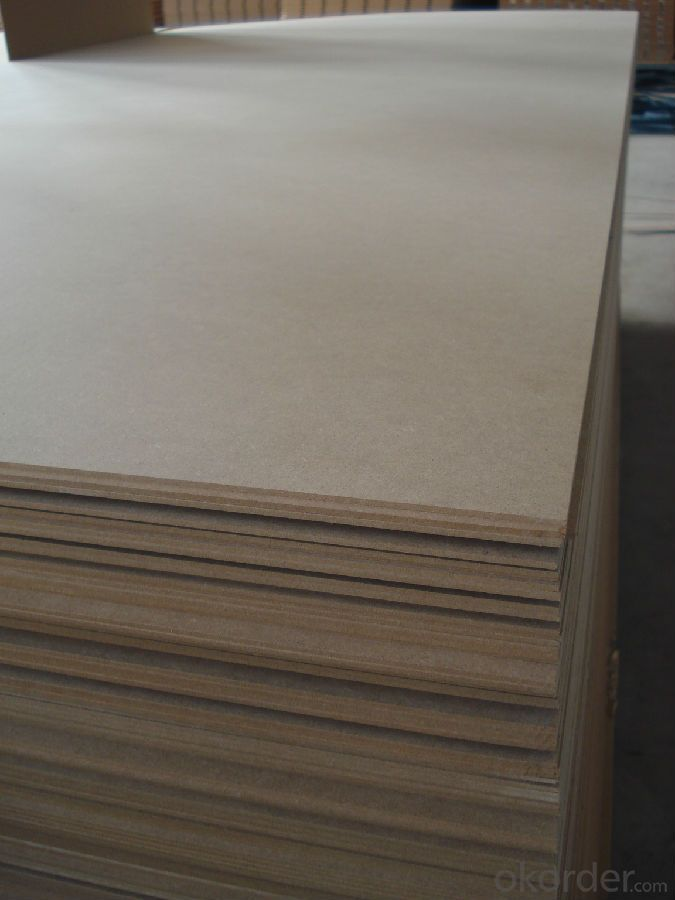 Plain/melamine mdf wood prices/mdf board plain