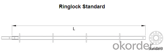 Ringlock System Scaffold Easy Assembly Top Quality Metal