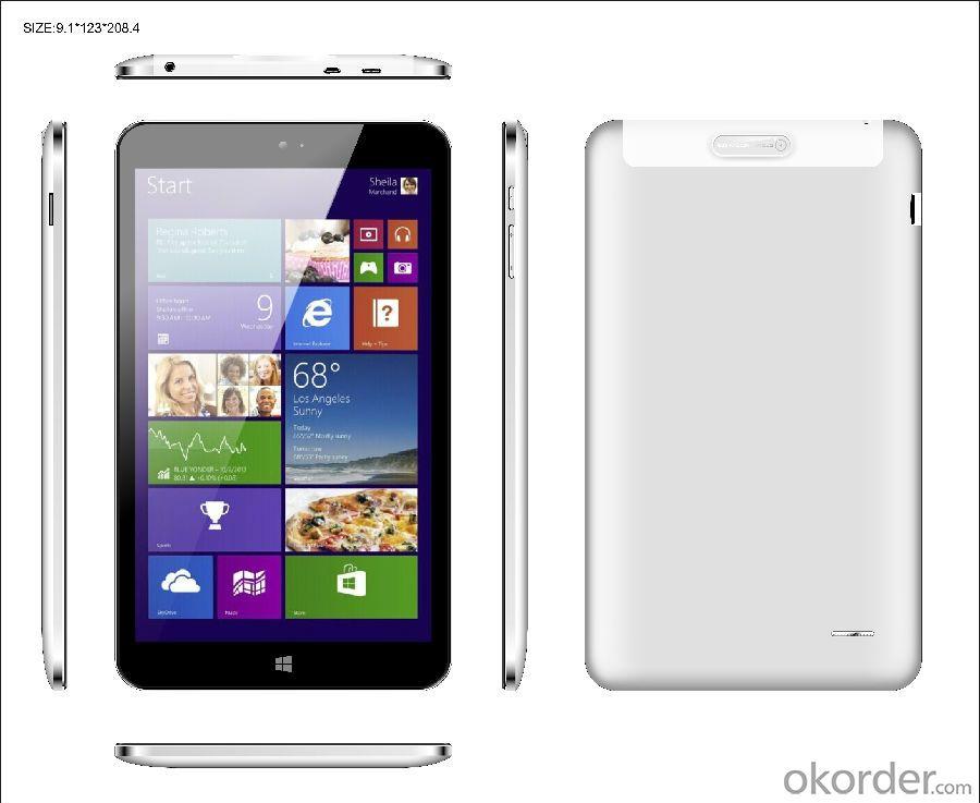 Quad core intel Tablet PC 8 inch 1GB+16GB