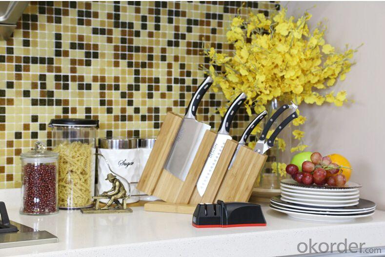 Diamond Handed Kitchen Knives Sharpener 2 Grinding Stages