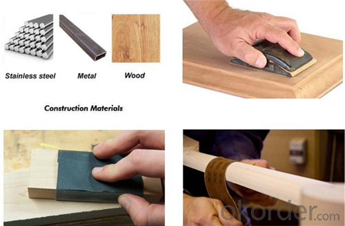 Abrasives Sanding Paper for the Atuo and Wood