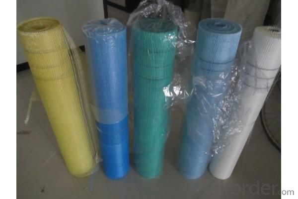 Coated Alikali-Resistent Fiberglass Mesh 60g/m2 5x5mm High Strength