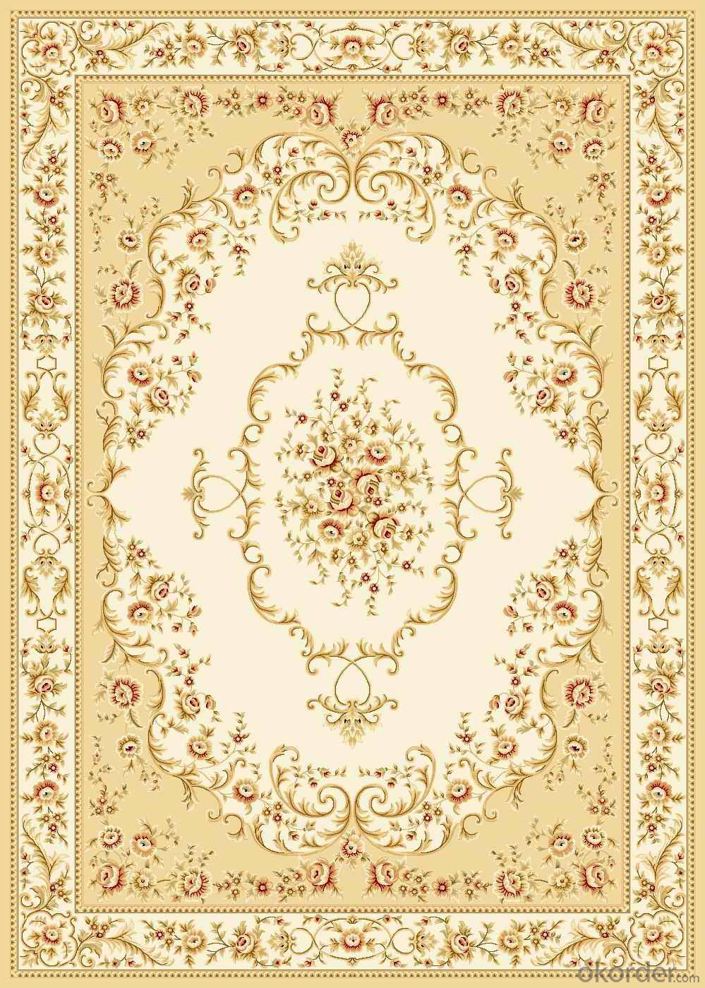 Viscose Wilton  Carpet and Rug