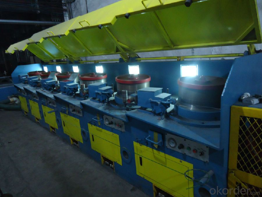 WIRE DRAWING MACHINE FOR SS WIRE OR STEEL WIRE FACTORY
