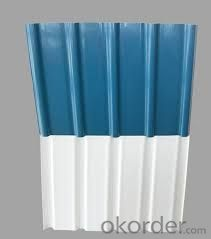 Prepainted galvanized Corrugated plate / Sheet-CGLCC