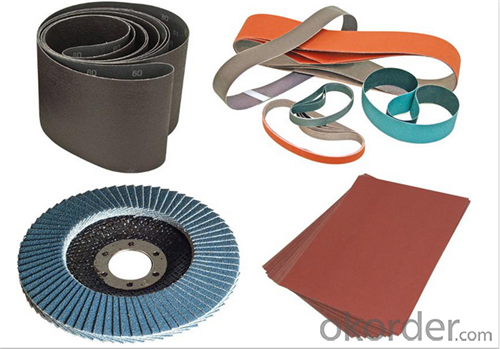 Waterpoof Abrasives Sanding Paper for Steel and Inox Surface