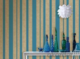 PVC Wallpaper Italy Deep Embossed New Design Modern Style for Walls
