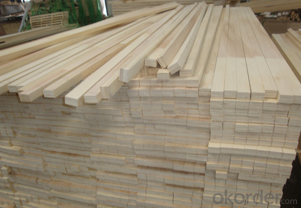 Full poplar/hardwood/pine packing grade LVL