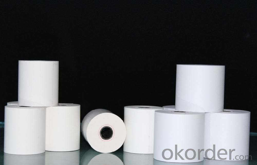 Customized Printed Thermal Paper/Cash Register Paper 55g, 58g, 65g