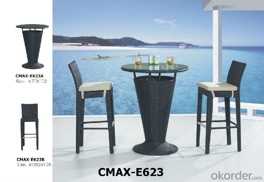 Hot Bar Set for Outdoor Furniture with Waterproof Cushion CMAX-E051
