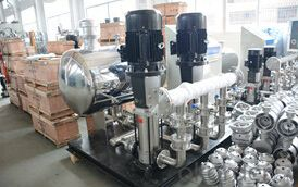 Non-negative Pressure Building Water Supply Pump