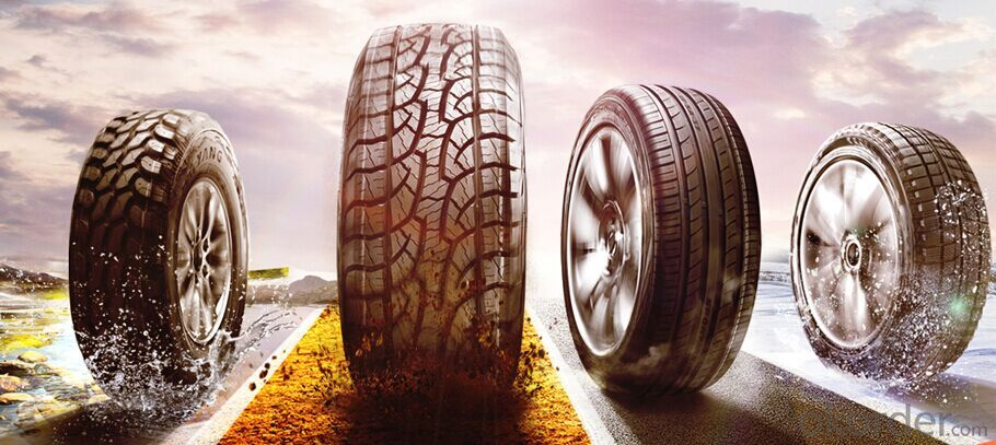 Passager Car Radial Tyre of Crosswind 4X4 HP