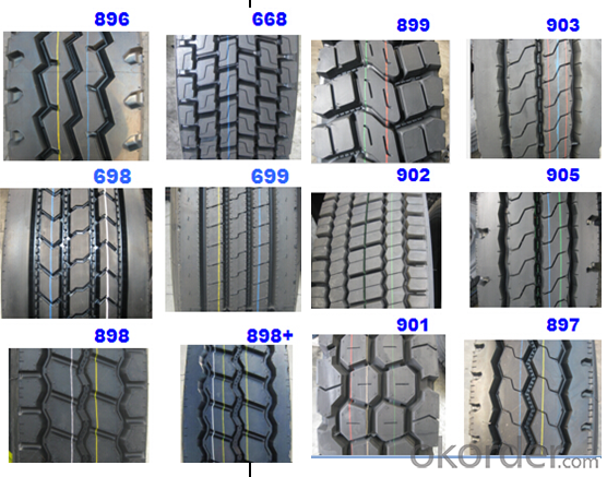 Truck and Bus Radial Tyre 11R22.5 16PR TL