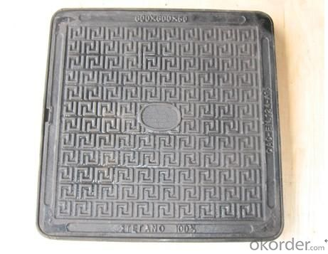 Manhole Cover Hot Sale China Manufacturer Cast Iron