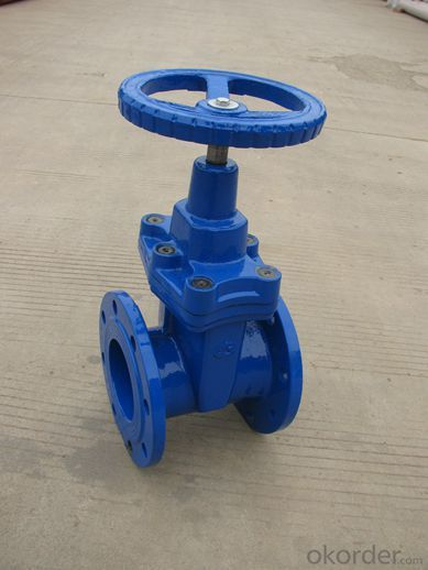 Dustproof sleeve DIN Gate Valve Ductile Iron PN16 / PN10